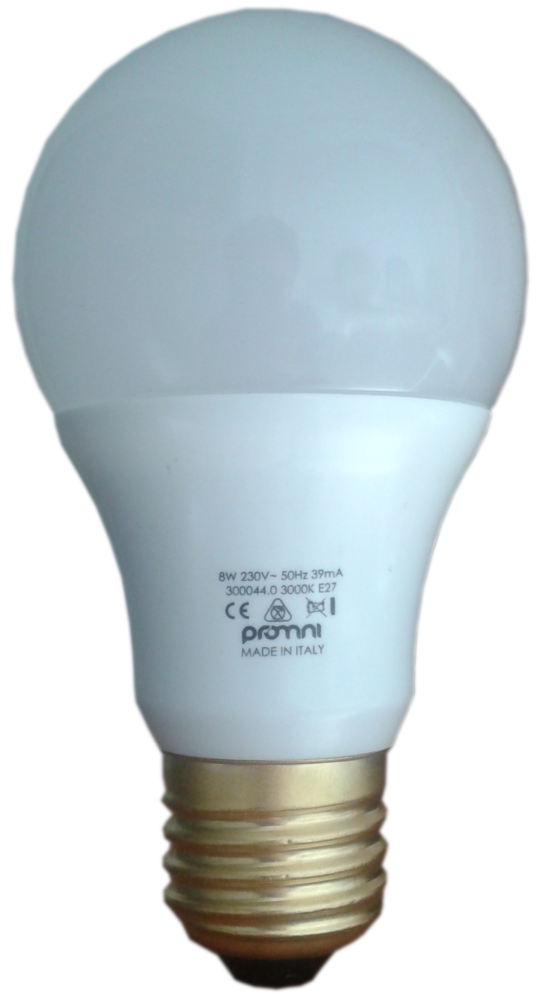 Lampadina LED E27 230V 8W Calda e Fredda - LUXINO E27 8W 3000K