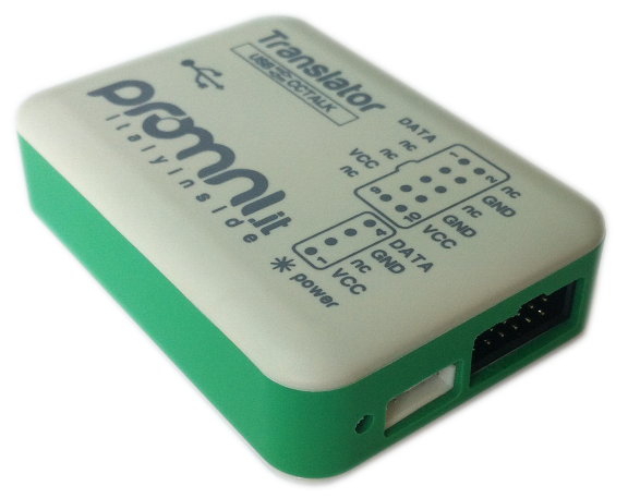 Adattatore USB CCTALK Isolato - TRANSLATOR USB CCTALK - Box