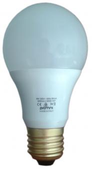 Lampadina LED E27 230V 8W Calda e Fredda - LUXINO E27 8W 3000K Image 1