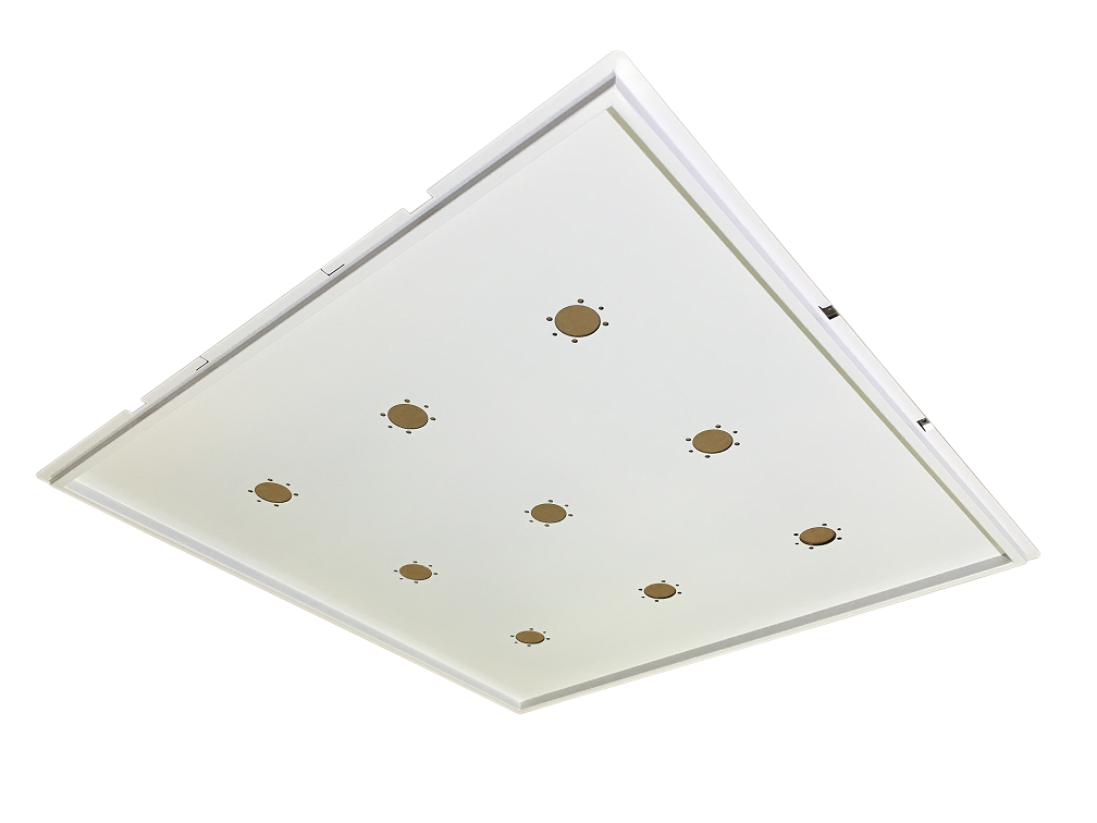 Supporto Plafoniera LED 60x60 Incasso - ECOLUX INCASSO BIANCO