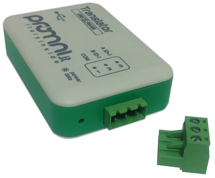 Adattatore USB RS485 Isolato - TRANSLATOR USB RS485 - Box
